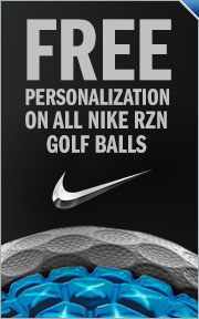 Free Personalization On All Nike RZN Golf Balls