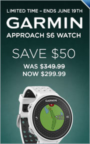 Instantly Save $50 On Garmin Approach S6 Watch GPS/Rangefinder