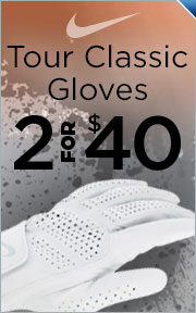 Buy 2 Nike Tour Classic II Gloves for $40