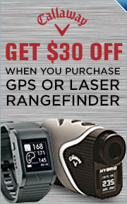 Instantly Save $30 On All Callaway GPS Rangefinders