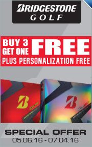 Buy 3 Dozen Personalized Bridgestone B330 Golf Balls & Get 1 Free