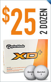 Buy 2 Dozen TaylorMade Golf Balls for $25