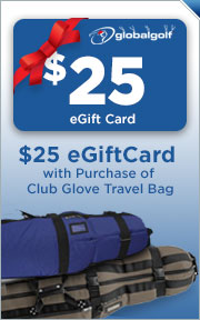 Free $25 Gift Card With Purchase of Select Club Glove Travel Bag