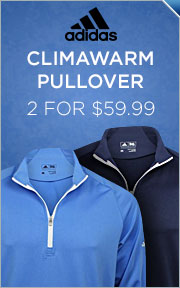 Adidas ClimaWarm 3-Stripe Half-Zip Pullover -- 2 For $59.99