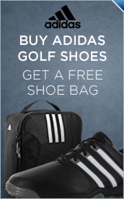 Free Adidas Shoe Bag w/ Purchase of Select Adidas Golf Shoes
