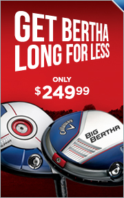Callaway Big Bertha and Big Bertha Alpha Price Drops