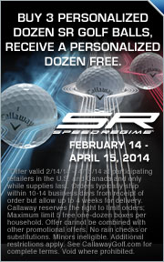 Buy 3 Personalized Dozen SR Golf Balls, Receive A Personalized Dozen Free