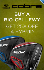 Buy Select Cobra Bio Cell Fairway Wood & Get Bio Cell Hybrid 25% Off