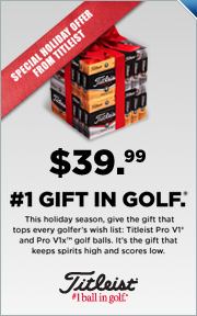#1 Gift in Golf, Titliest Pro V1 & Pro V1x Now Only $39.99