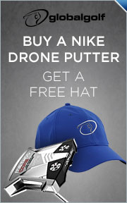 Buy Select Nike Drone 2.0 Putter & Get Nike GlobalGolf Hat FREE!