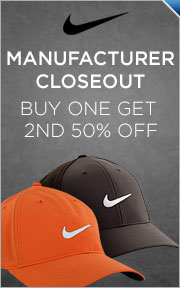 Select Nike Manufacture Closeout Headwear -- Buy 1 Get 2nd 50% Off