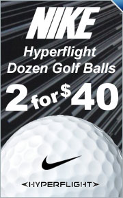 Nike HyperFlight Golf Balls - 2 Dozen For $40