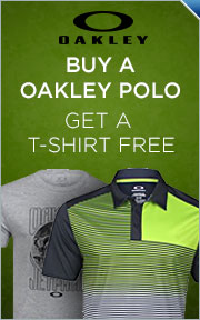 Buy Any Select Oakley Shirt & Get Select Oakley JetPack T-Shirt FREE!