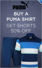 Buy Any Select Puma Shirt & Get Shorts 50% Off