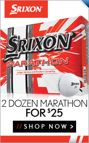Buy 2 Dozen Srixon Marathon Golf Balls for $25