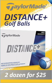 TaylorMade Distance Plus Golf Balls - 2 For $25