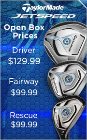 Save up to 56% on Open Box TaylorMade JetSpeed Clubs