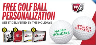 Free Personalization On Select Wilson Golf Balls