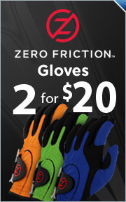 Buy 2 Zero Friction Gloves for $20